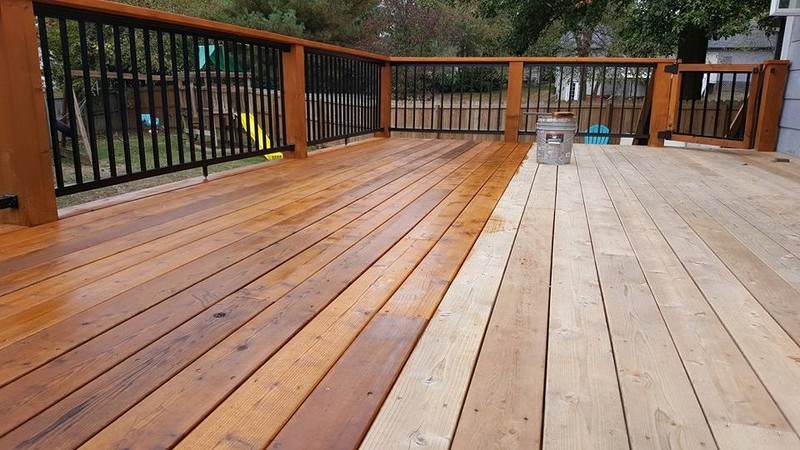 Paint your deck in a beautiful manner