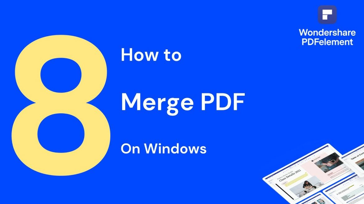 Why go for online PDF merging tools?